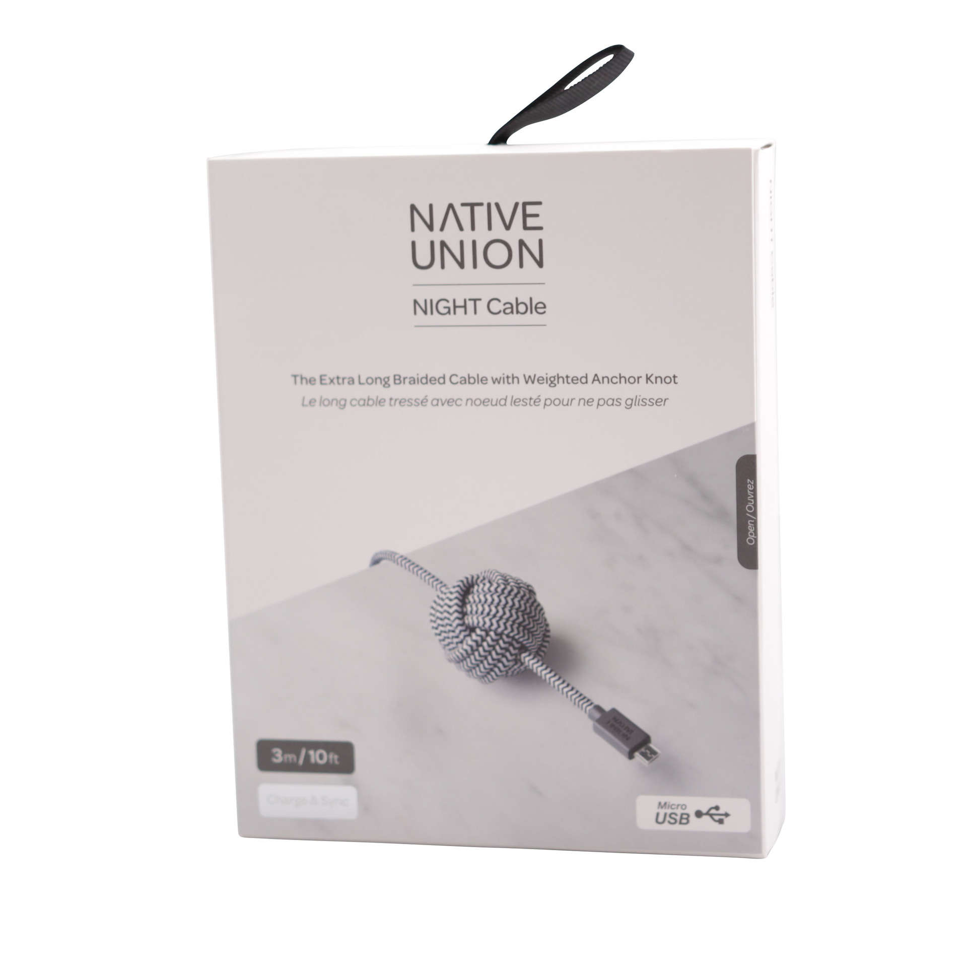 NU Night Cable Micro USB (Zebra)