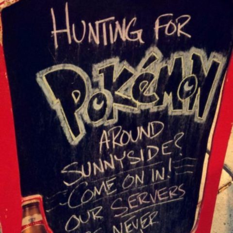 Pokemon Bar Sign 2