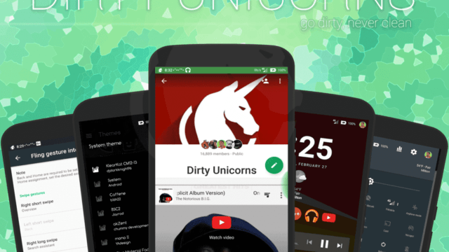 Unofficial Dirty Unicorns v10.4 ROM