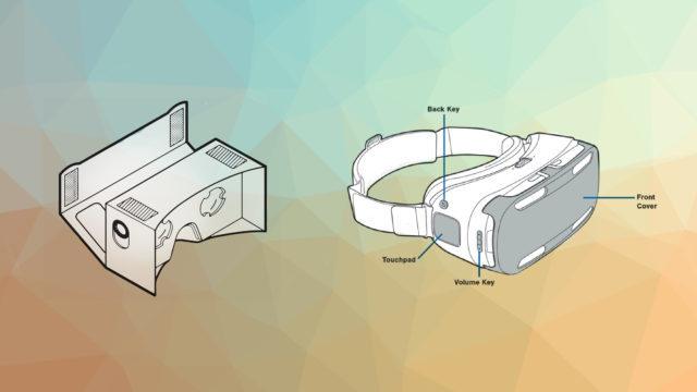 Cardboard Gear VR