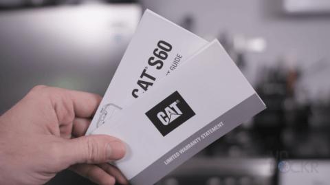 Cat S60 Warranty Info