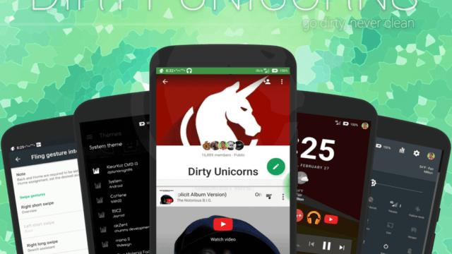 Dirty Unicorns v10.5 ROM