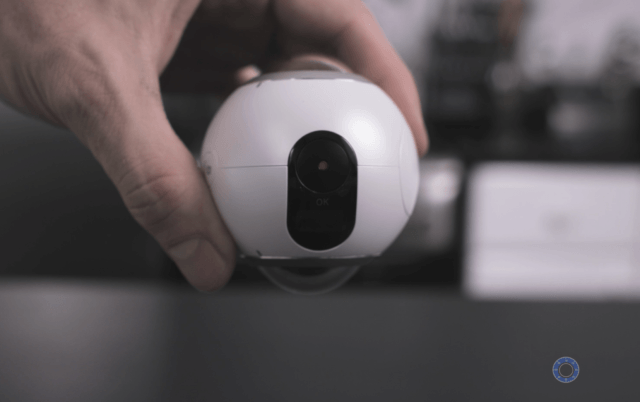 Gear 360 Shutter Button