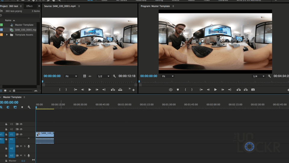 Editing 360 in Premiere