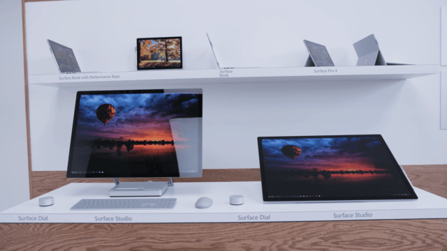 Surface Book & Surface Studio