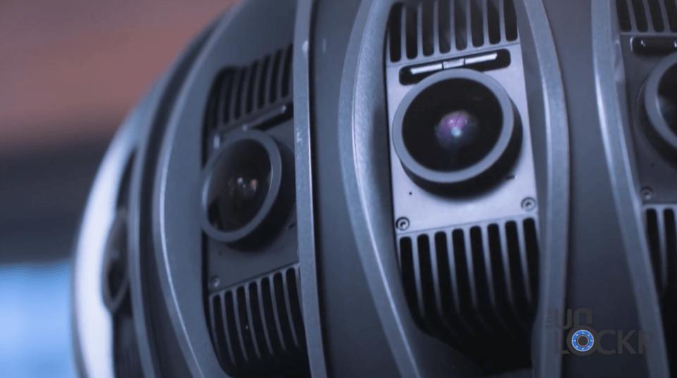 Jaunt One Cameras Close Up