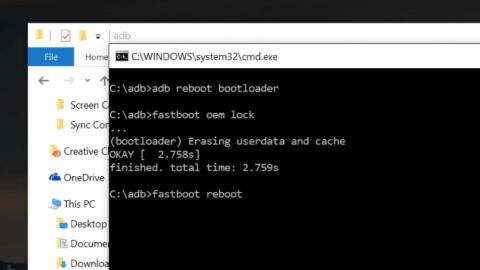 Relock Bootloader LG G5