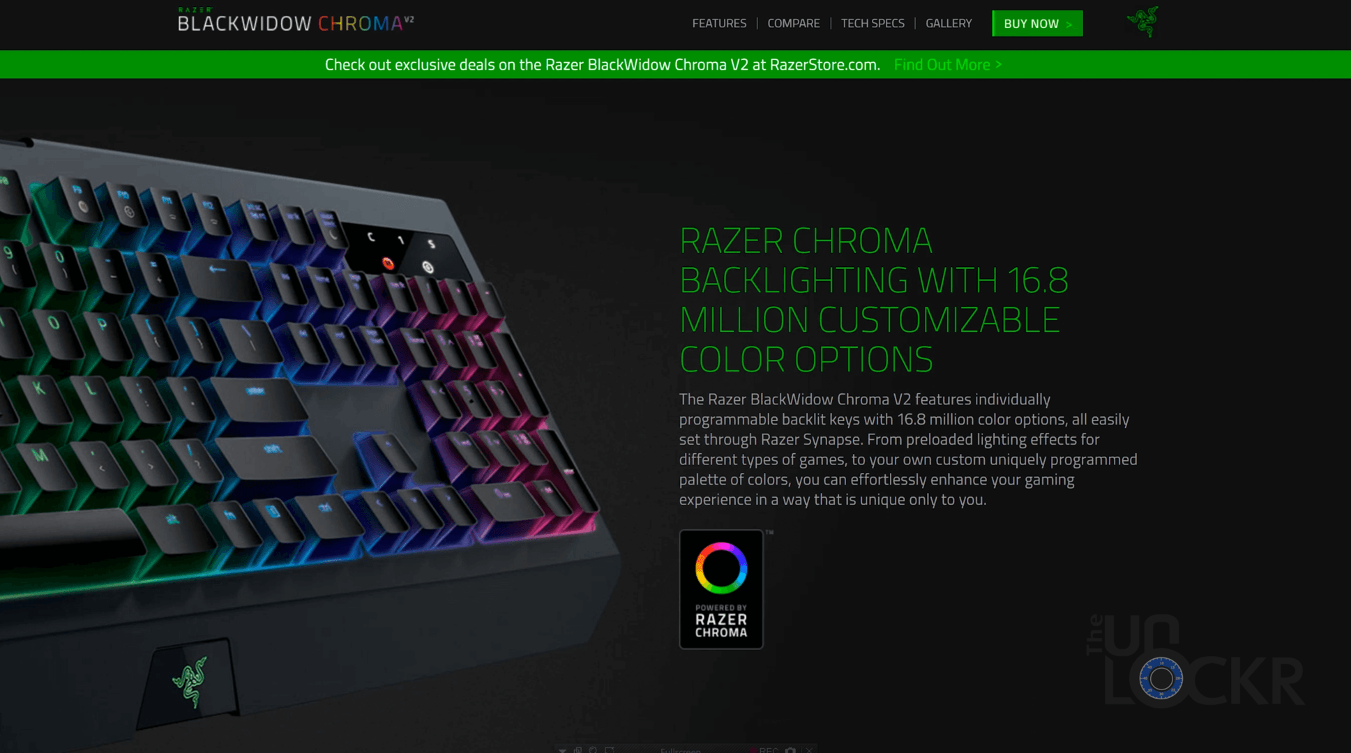 Video: Razer Blackwidow Chroma v2 Keyboard Giveaway!