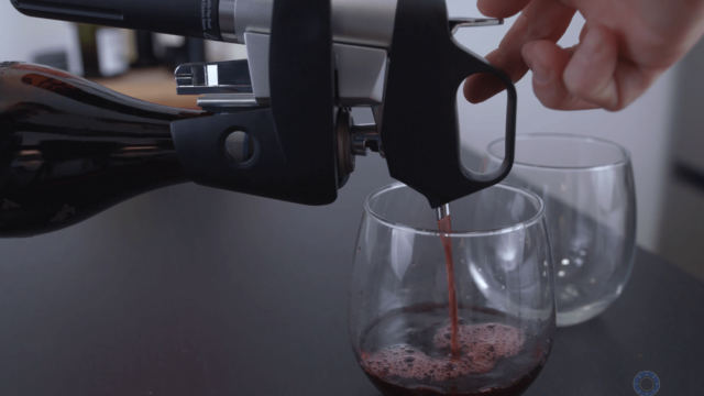 Coravin Pouring Wine