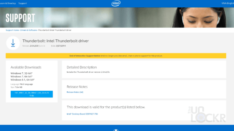 Intel Thunderbolt Drivers