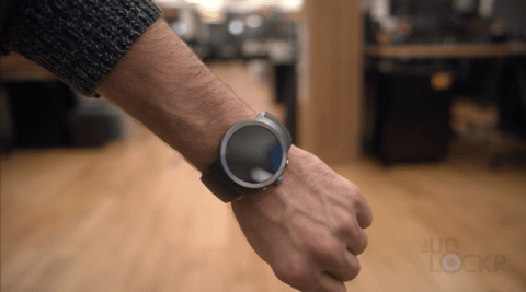 LG Watch Sport on Wrist