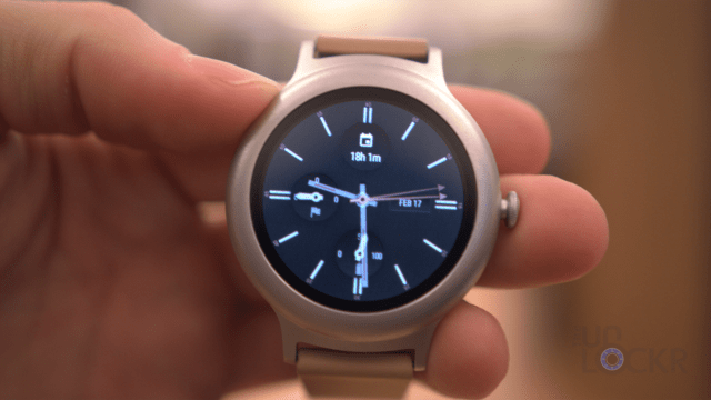 LG Watch Style Watchface