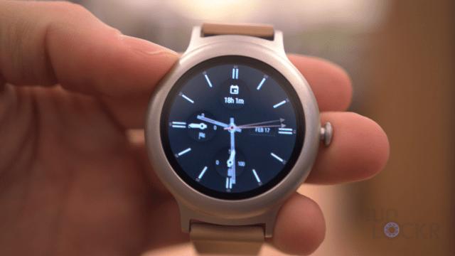 LG Watch Style Watchface
