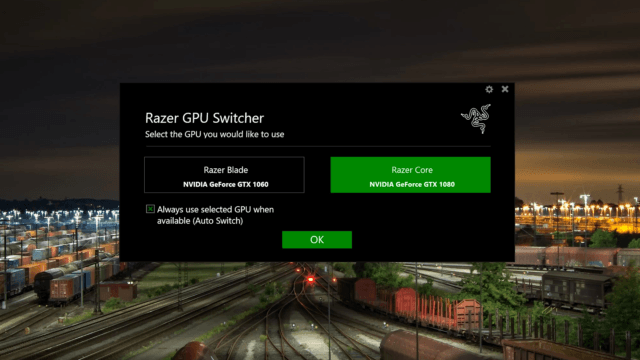 Razer GPU Switcher