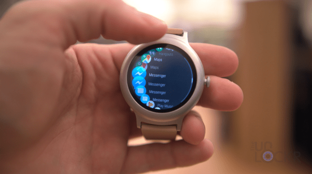 Rotating Dial on the LG Watch Style