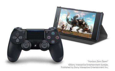 Sony Xperia XZ Premium PS4