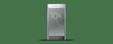 Sony Xperia XZ Premium Silver Front