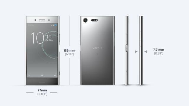 Sony Xperia XZ Premium Specs