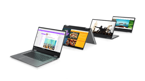 Lenovo Yoga 720 Folded