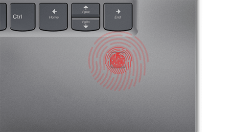 Lenovo Yoga 720 Fingerprint Scanner