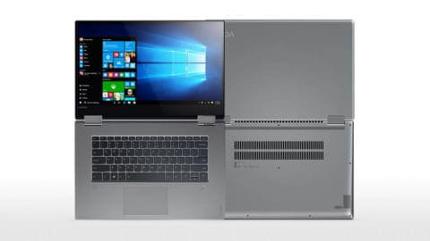 Lenovo Yoga 720 Top and Back