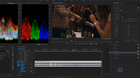 Premiere Color Correcting