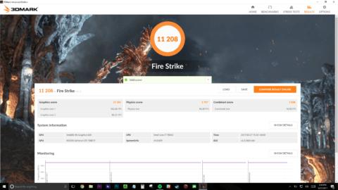 Razer Blade Stealth w/ Core Firestrike Score