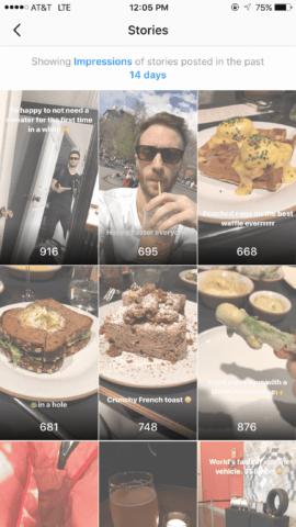 Instagram Stories Insights