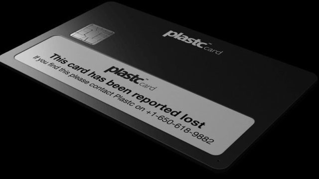 Plastc Card Lost
