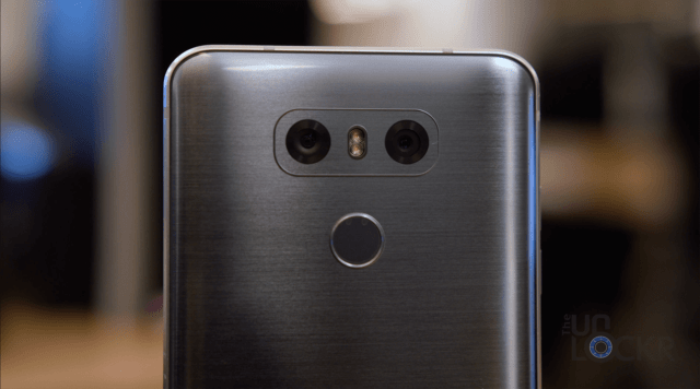 Rear Dual Cameras on G6