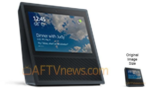 AFTV Amazon Touchscreen Echo