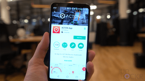 Acton App in Play Store