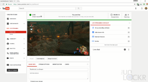 How to live stream nintendo switch games complete guidevideo go live on youtube ccuart Gallery