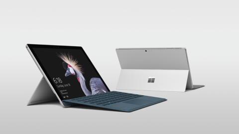 Microsoft Surface Side
