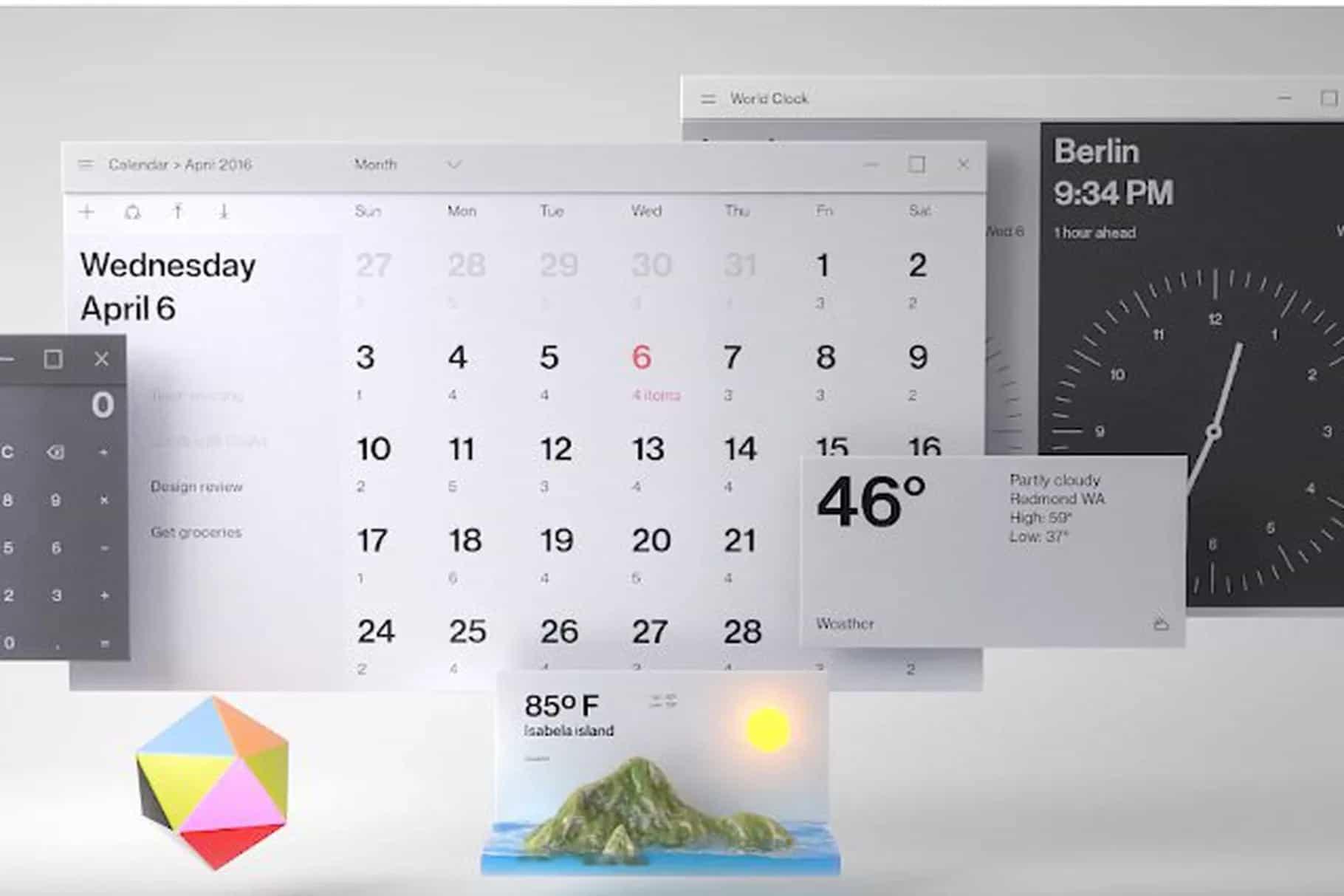 Microsoft Fluent Design