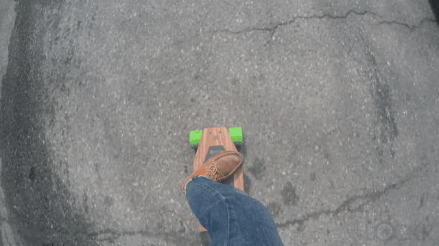 Riding Blink S from Above