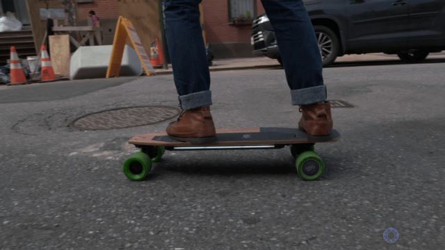 Riding Blink S from Side