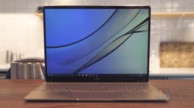 Huawei Matebook Front