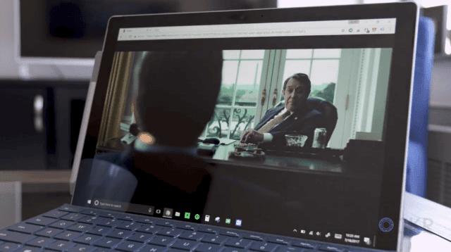 Movie on Surface Pro