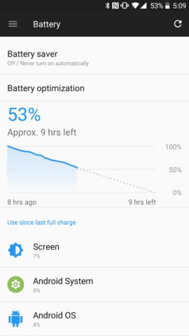 OnePlus Battery