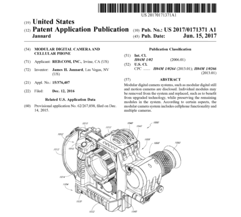 RED Camera Phone Patent