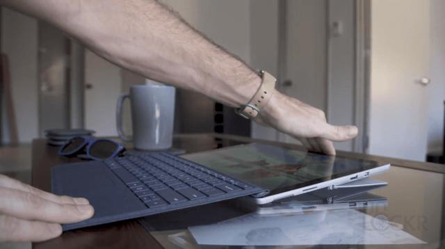 Surface Pro Lay Flat