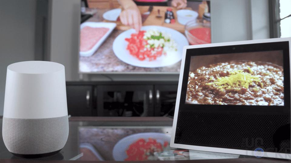 Google Home vs Echo Show