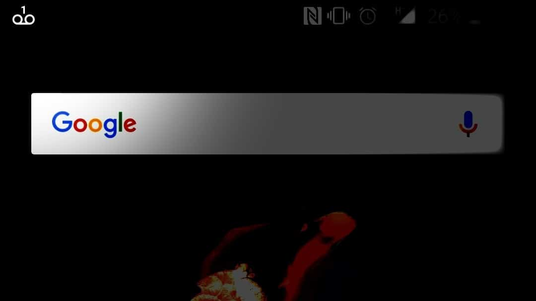 voicemail icon stuck on android