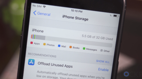 New Name for Storage on the iPhone