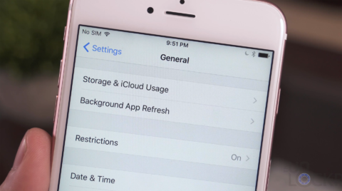 Old Name for Storage on the iPhone