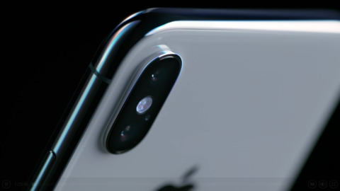 Back of iPhone X 2