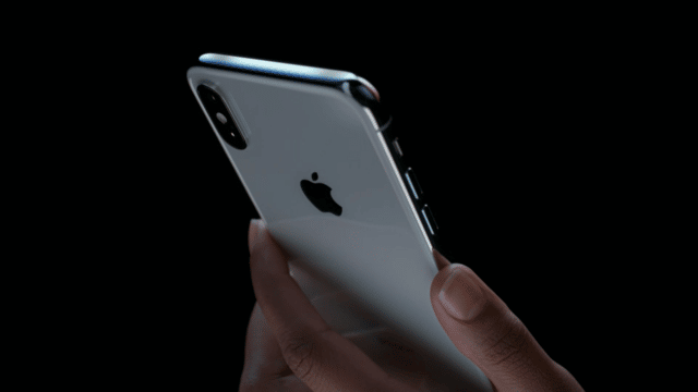 Back of iPhone X 3