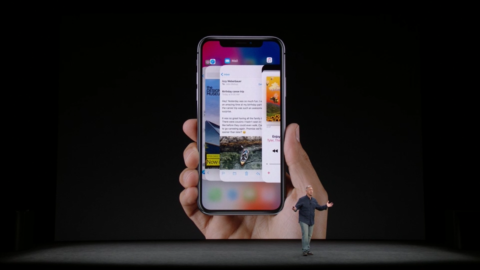 iPhone X In Use