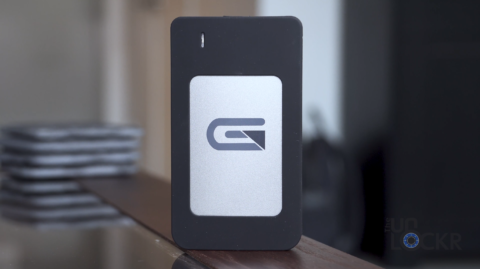 Glyph Atom RAID SSD on Table